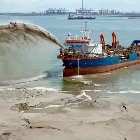 Maritime Baggerarbeiten