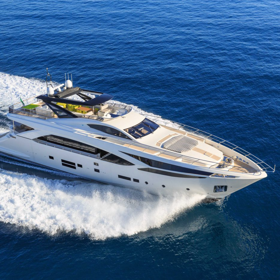 Maritime industry yacht building