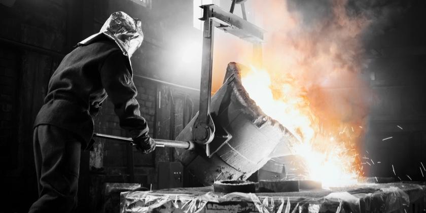Gussteile aus unterschiedlichem Material wie Stahl, Edelstahl, Aluminium, Eisen und Kupfer