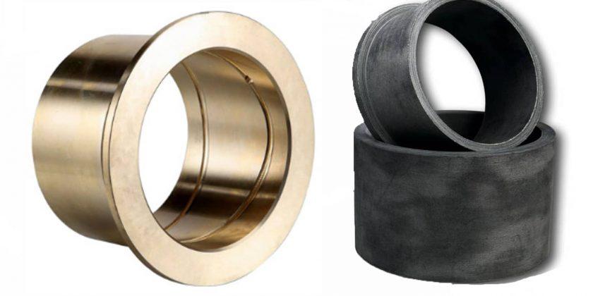 Composite oder brons gleitlater