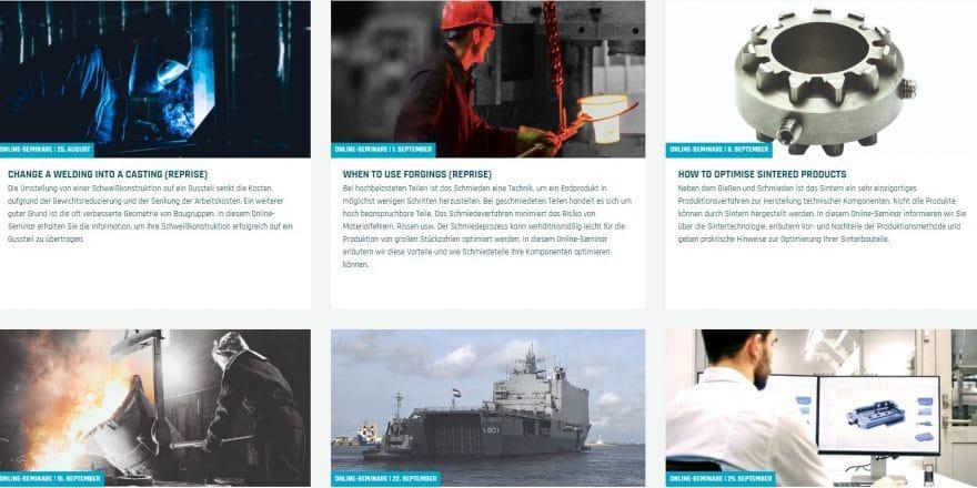 Übersicht online Seminaren der ELCEE-Akademie