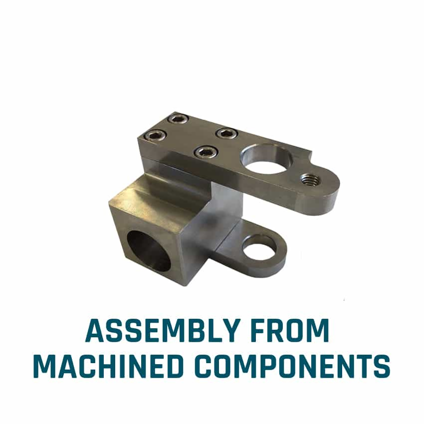 Assembly from machined components