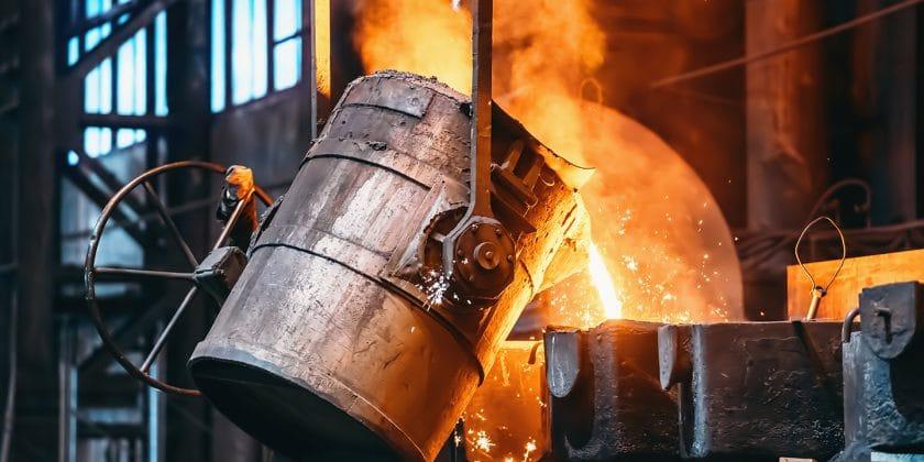 Gussteile aus unterschiedlichem Material wie Stahl, Edelstahl, Aluminium, Eisen und Kupfer.