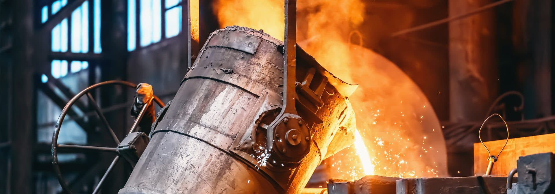 ELCEE fertigt Gussteile aus unterschiedlichem Material wie Stahl, Edelstahl, Aluminium, Eisen und Kupfer.
