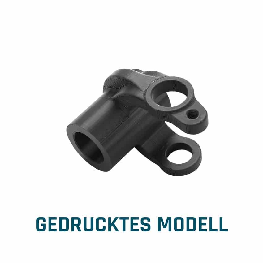 GEDRUCKTES MODELL